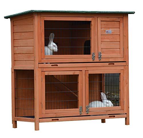 Kaninchenstall, Bunny Business, doppelstöckig