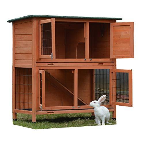 Kaninchenstall, Bunny Business, doppelstöckig - 3