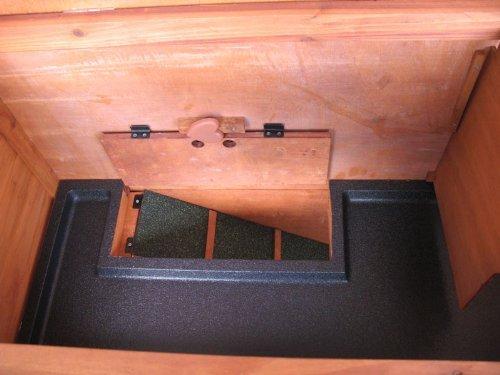 BUNNY BUSINESS Doppeldecker-Stall für Kaninchen, aus Kunststoff - 4