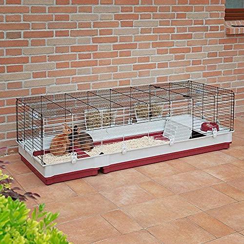 Kaninchenstall Krolik 160, Ferplast, einstöckig - 3