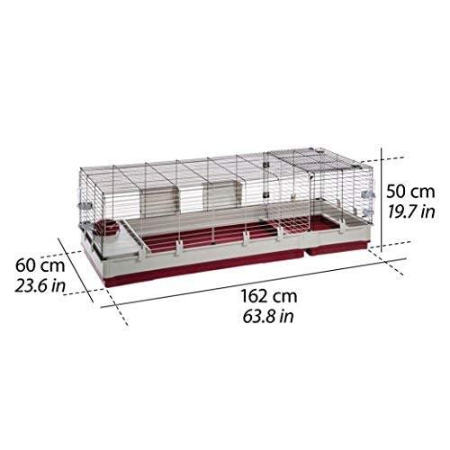 Kaninchenstall Krolik 160, Ferplast, einstöckig - 5