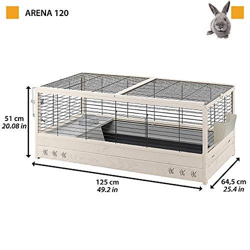 Kaninchenstall Arena 120, Ferplast, einstöckig - 3