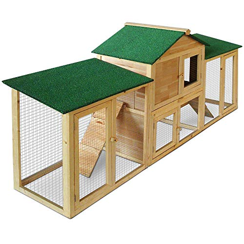 Kaninchenstall, Deuba, doppelstöckig, variabel aufstellbar - 4