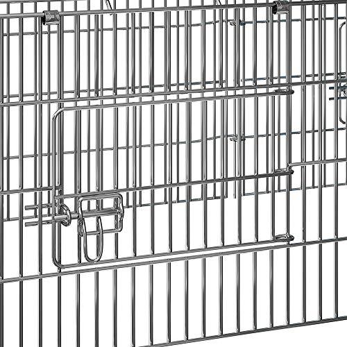 Kaninchenstall, Deuba, einstöckig, Freilaufgehege inkl. Sonnenschutz - 2