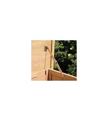 Kaninchenstall Buddy, Kerbl, einstöckig, Nagerstall, 116 x 52 x 82 cm - 4
