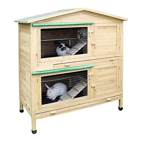Kaninchenstall Appartement von Kerbl - ein durchdachtes Stallkonzept (doppelstöckig)