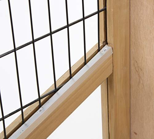 Kaninchen-Kleintierkäfig Indoor Deluxe, Kerbl, einstöckig, 115 x 60 x 92,5 cm - 5