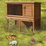 Kaninchenstall, FDS, doppelstöckig, Hasenkäfig, Kleintierstall - 3