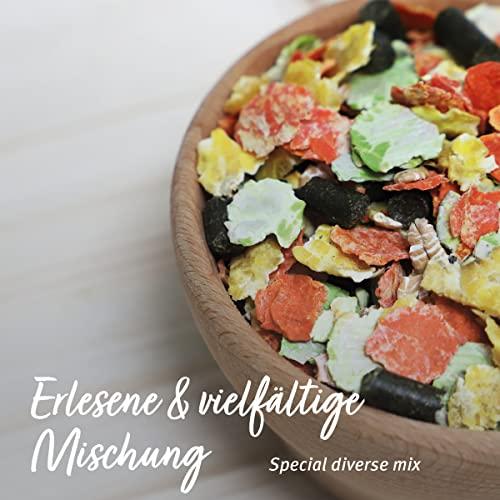 AniForte Natur Nagerfutter 10 Liter für Hamster, Meerschweinchen, Kaninchen – Qualitäts-ID: OLP C 09 - 4