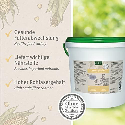 AniForte Natur Nagerfutter 10 Liter für Hamster, Meerschweinchen, Kaninchen – Qualitäts-ID: OLP C 09 - 3