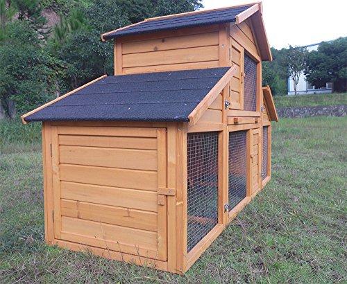 Kaninchenstall Kleintierhaus Hasenstall Kleintierkäfig Nr. 01