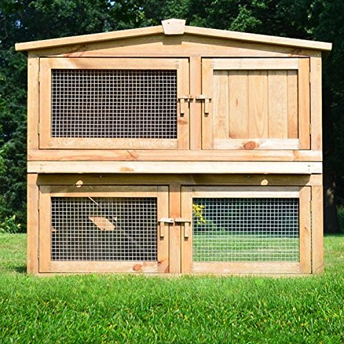 stall nr 2 kaninchenstall hasenstall kaninchenk fig. Black Bedroom Furniture Sets. Home Design Ideas