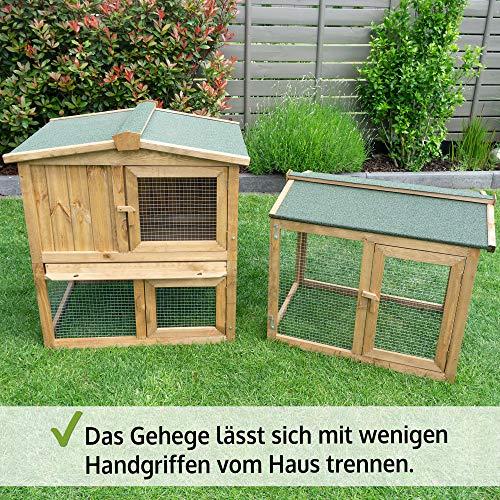 Kaninchenstall 1 PL, BS, doppelstöckig - 7