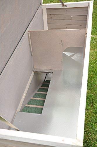 Kaninchenstall Moritz 2 – praktisches Kleintierhaus für alle Lebenslagen (doppelstöckig) - 8