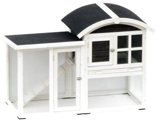 Kaninchenstall Piazza, AK for Pets, doppelstöckig, 130 x 62 x 90,5 cm