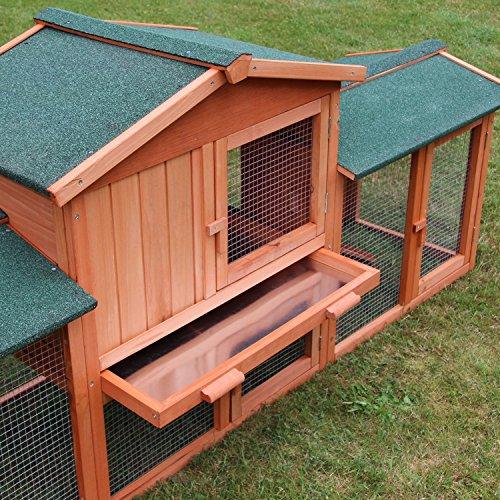 Der Zooprimus Kaninchenstall 1 XXL: eine preiswerte Qualität mit ausreichend Platz - 4