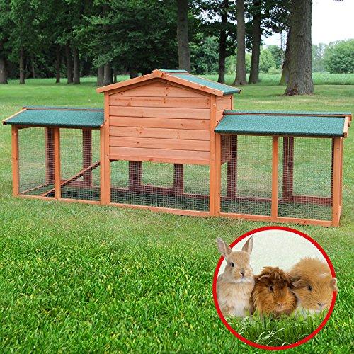 Der Zooprimus Kaninchenstall 1 XXL: eine preiswerte Qualität mit ausreichend Platz - 5