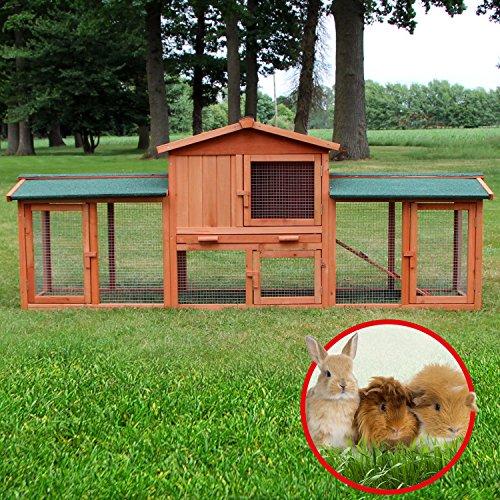 Der Zooprimus Kaninchenstall 1 XXL: eine preiswerte Qualität mit ausreichend Platz - 8