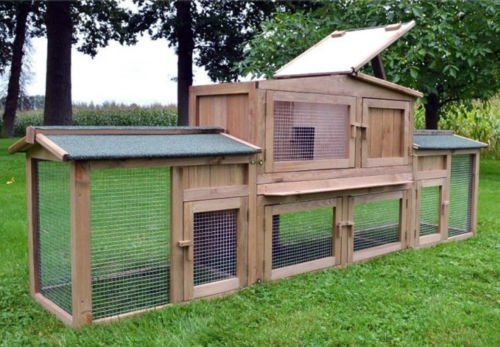 Der Zooprimus Kaninchenstall XXL – großer Auslauf über zwei Stockwerke - 3