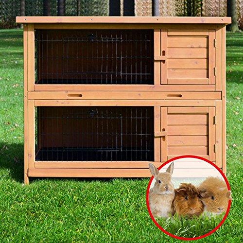 Kaninchenstall Nr. 5, BS, doppelstöckig, kompakt - 2