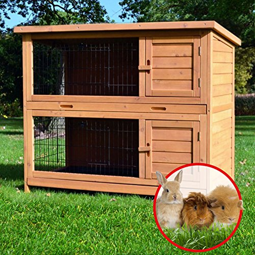 Kaninchenstall Nr. 5, BS, doppelstöckig, kompakt - 3