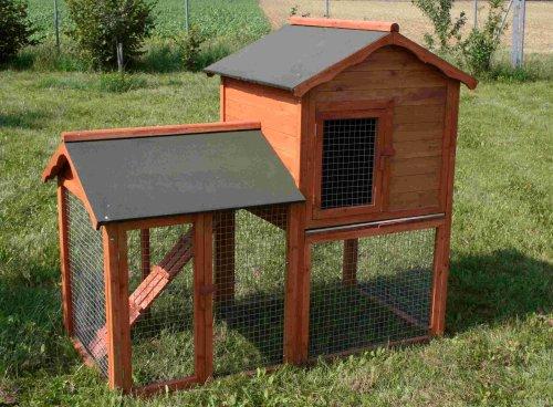 Kaninchenstall Maxi, Elmato, XXL, 2-teilig, Bausatz