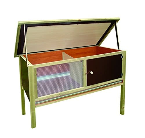 elmato 11000 hasenstall iso mit isolierung wetterfest glasscheibe kaninchenstall kaufen. Black Bedroom Furniture Sets. Home Design Ideas