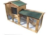 Stall Nr 1 Kaninchenstall Hasenstall Kaninchenkäfig Hasenkäfig Meerschweinchenstall - 1