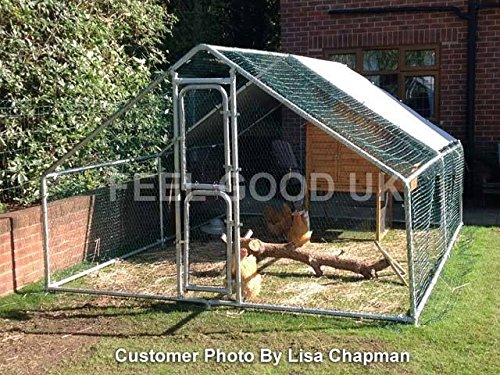 kaninchengehege feel good uk xxl metallstift zum verschlie en seitenansicht kaninchenstall. Black Bedroom Furniture Sets. Home Design Ideas