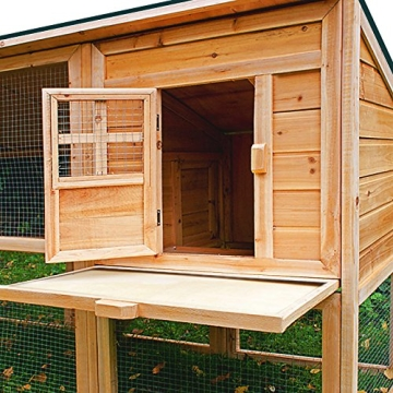 Kaninchenstall, Deuba, XXL, Gitter-Kleintierstall mit 2 Etagen, Türöffnung