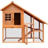 Kaninchenstall, Deuba, XXL, Residenz mit 3 Etagen