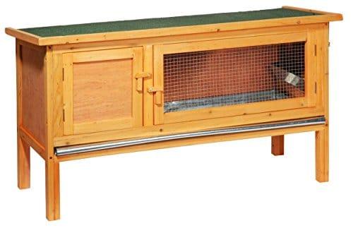kaninchenstall dobar einst ckig mit zinkwanne. Black Bedroom Furniture Sets. Home Design Ideas